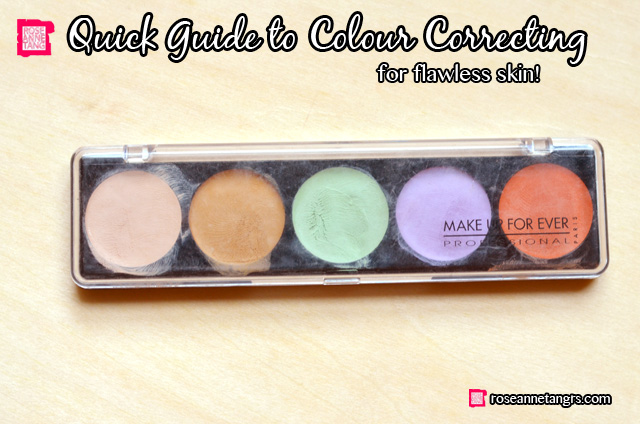 im sure we all know how to conceal but what about colour correcting no im no talking about slapping on another foundation or concealer to colour - Concealer Color Guide