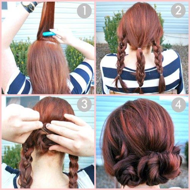 Pinterest DIY Hair Tutorials I Love Roseannetangrs - Braid diy pinterest